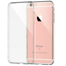 iPhone 7/8/SE 2020 transparante hardcase + tempered glass