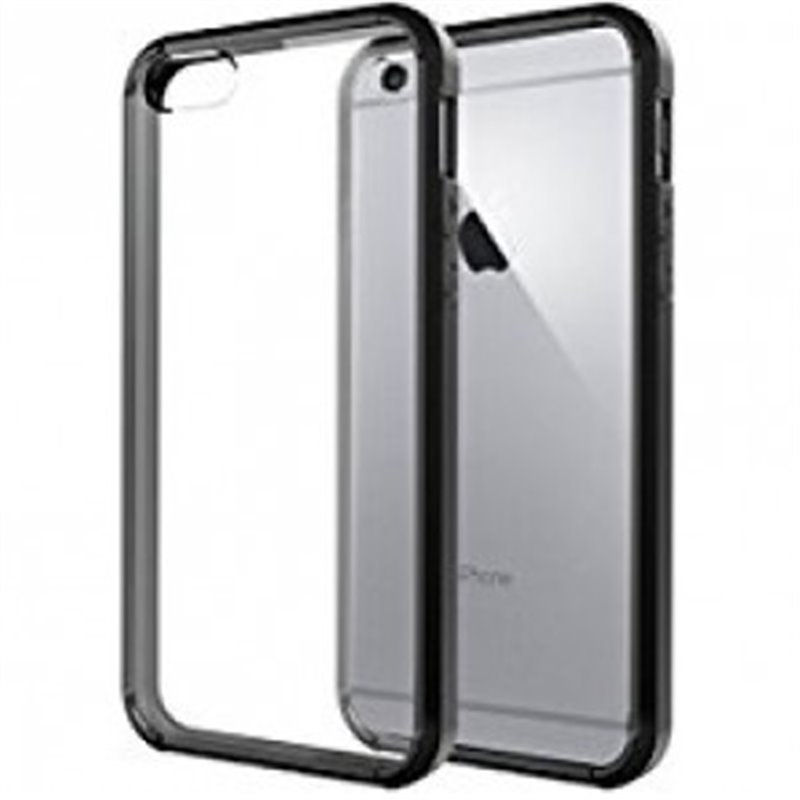 Hoesje Zwarte Liquid Silicone Hoes + Tempered Glass voor iPhone X of XS