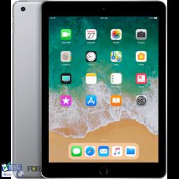 iPad 2018 32gb Zwartgrijs WIFI + 4G  - No touch ID - Refurbished