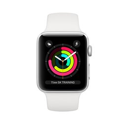 Apple Watch Series 4 Silver/White 40mm