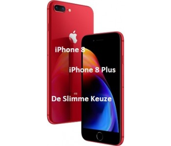 Smartphones van de Apple 8 familie beschikbaar in diverse kleuren en geheugens
